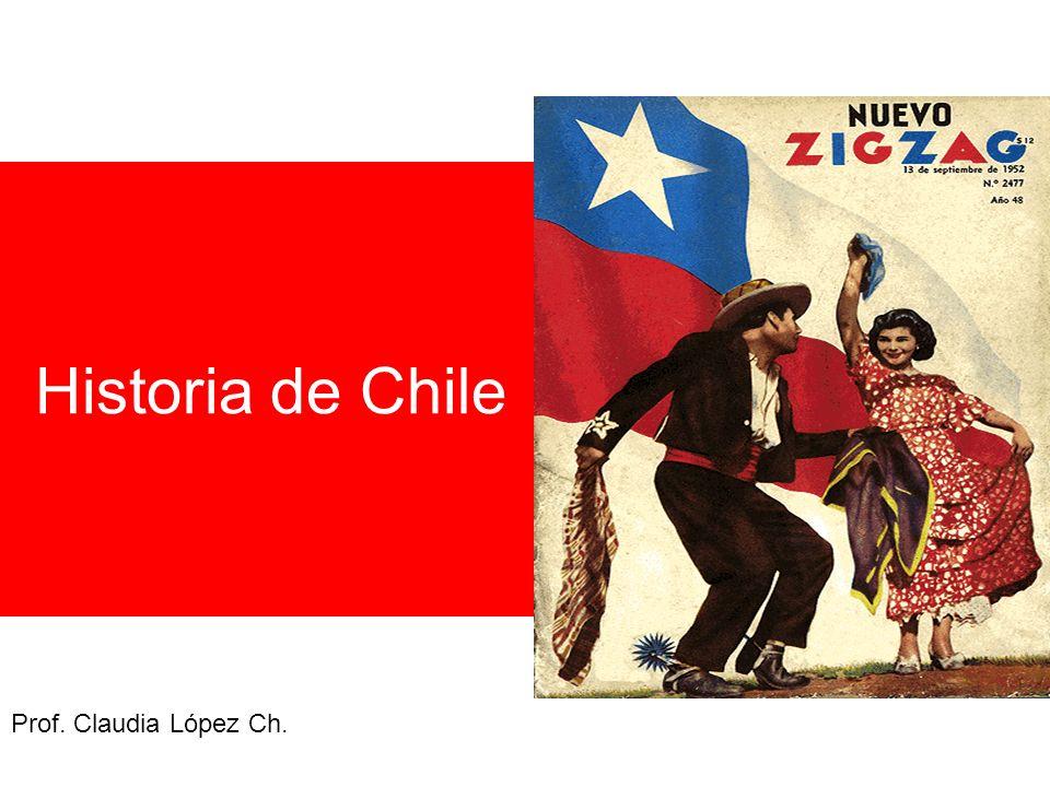 Historia de Chile Prof. Claudia López Ch.