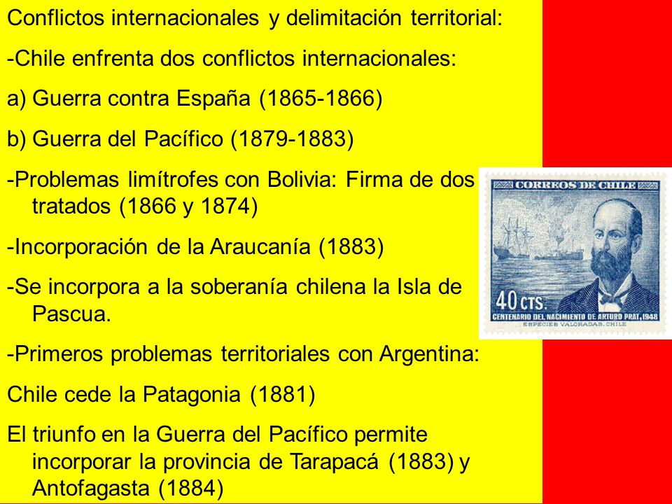 Conflictos internacionales y delimitación territorial: