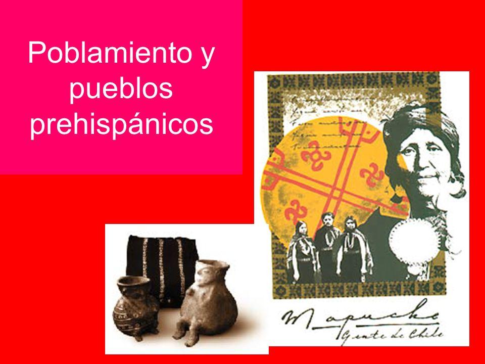Poblamiento y pueblos prehispánicos