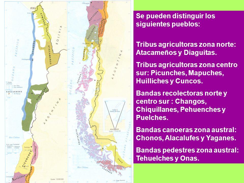 Se pueden distinguir los siguientes pueblos: