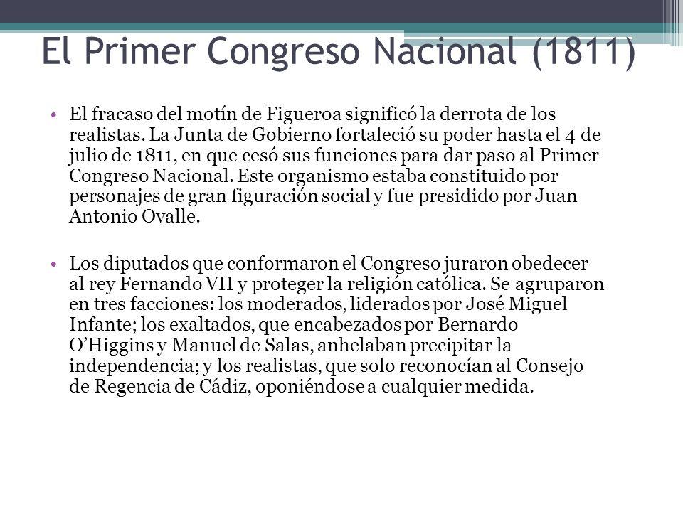 El Primer Congreso Nacional (1811)
