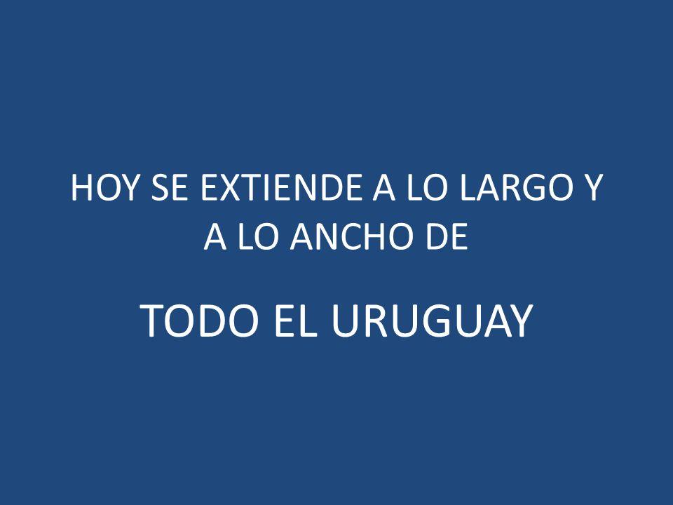 HOY SE EXTIENDE A LO LARGO Y A LO ANCHO DE