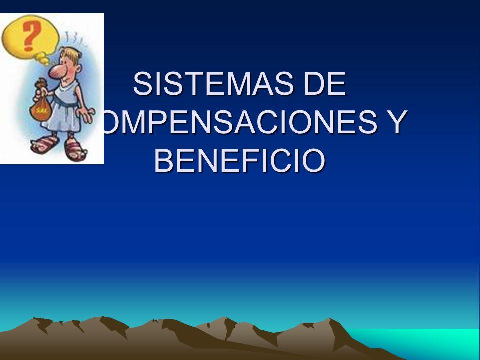SISTEMAS DE COMPENSACIONES Y BENEFICIO
