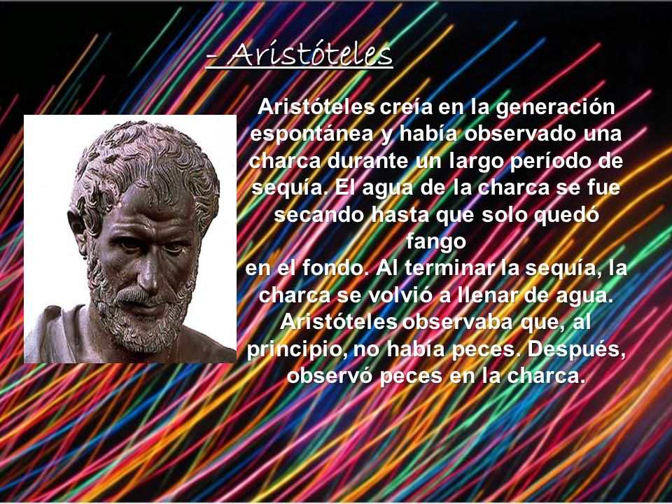 - Aristóteles