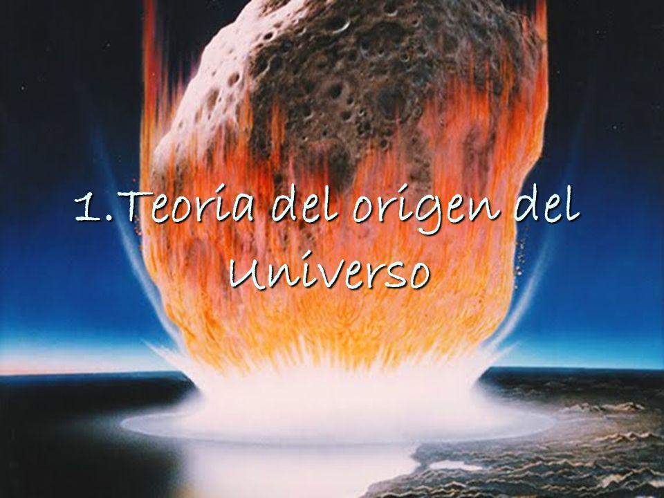 1.Teoria del origen del Universo