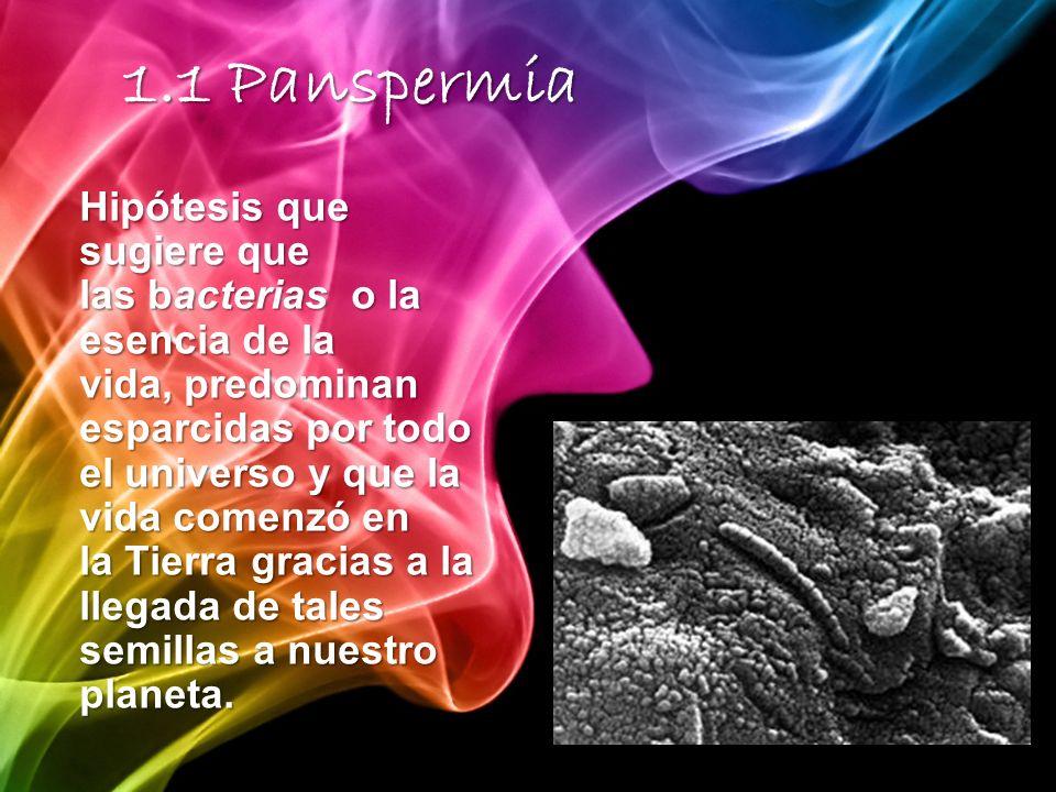 1.1 Panspermia