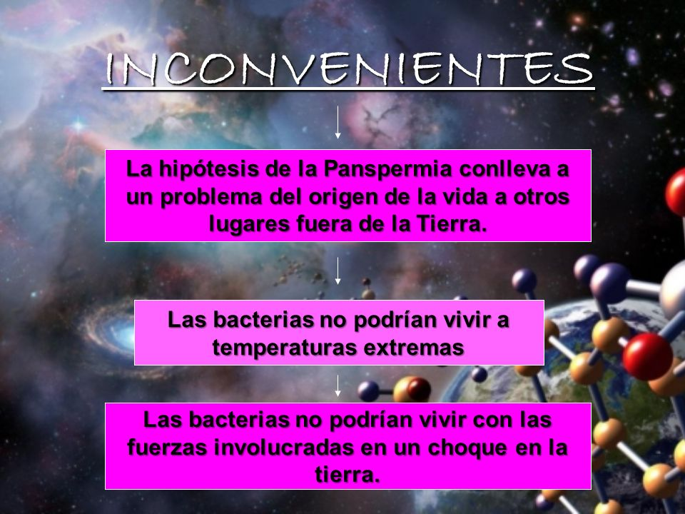 Las bacterias no podrían vivir a temperaturas extremas