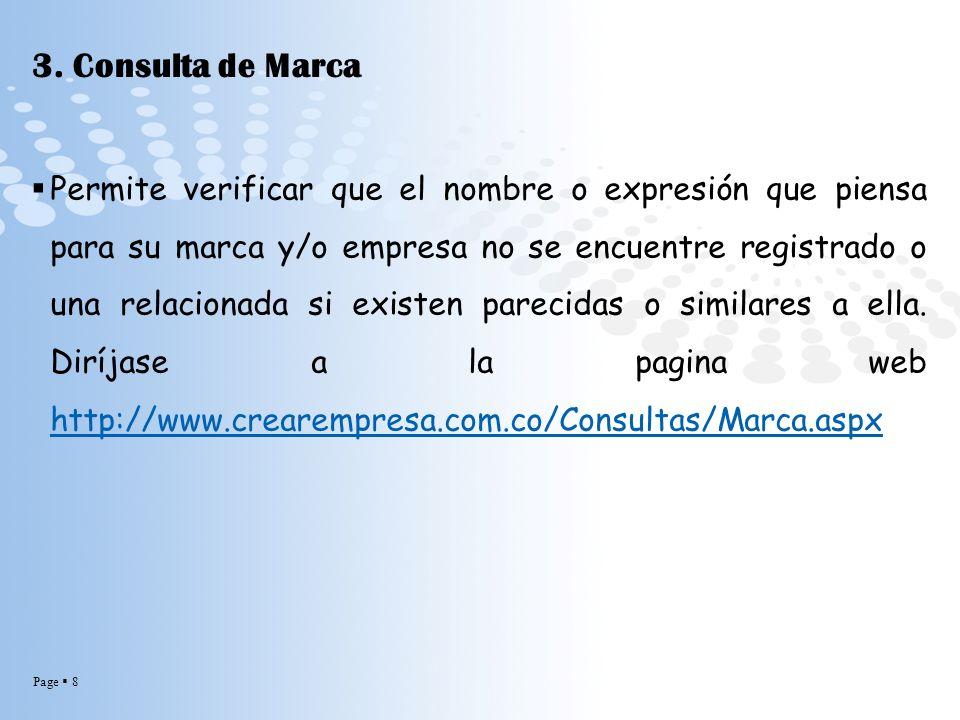 3. Consulta de Marca