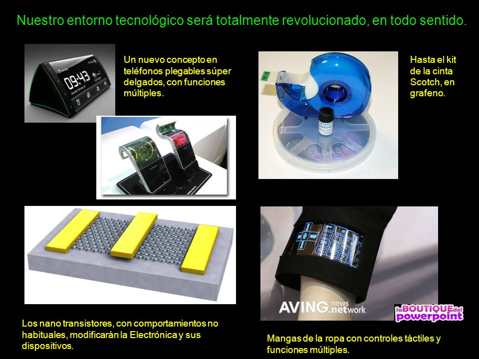 Nuestro entorno tecnológico será totalmente revolucionado, en todo sentido.