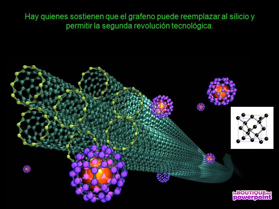 Hay quienes sostienen que el grafeno puede reemplazar al silicio y permitir la segunda revolución tecnológica.