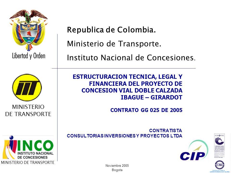 CONTRATISTA CONSULTORIAS INVERSIONES Y PROYECTOS LTDA