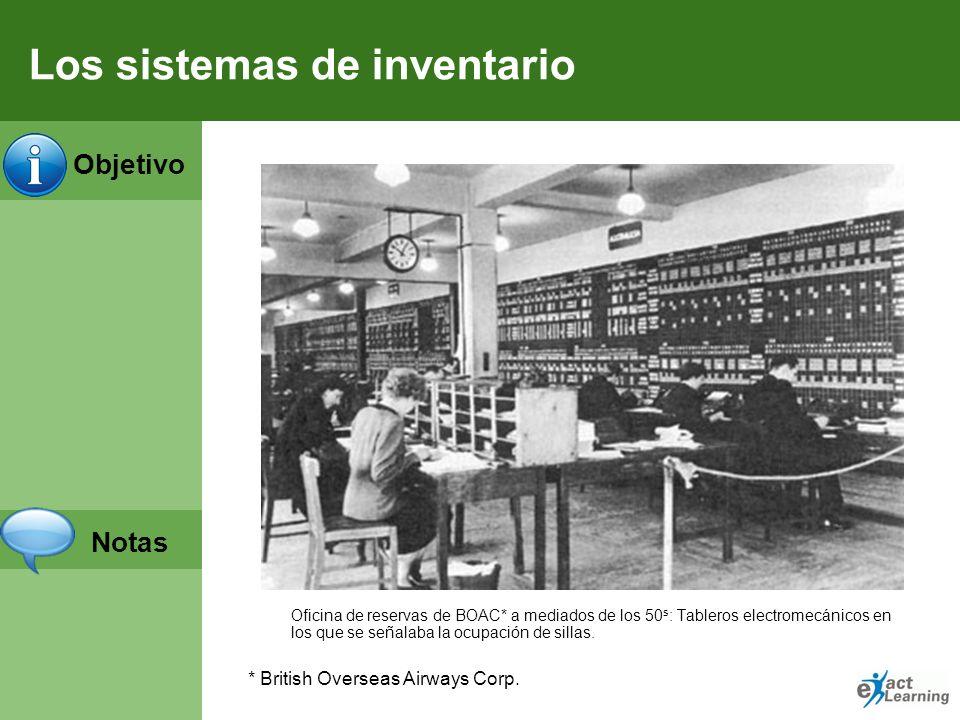 Los sistemas de inventario