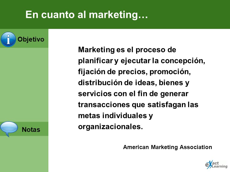 En cuanto al marketing…
