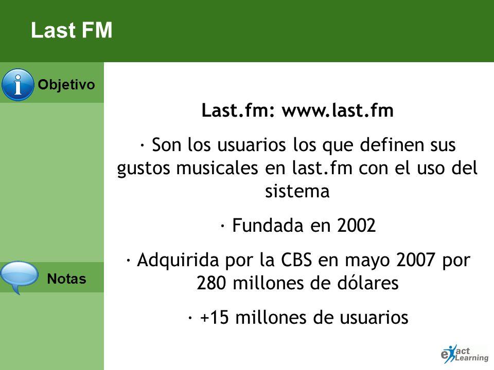 Last FM Last.fm: www.last.fm