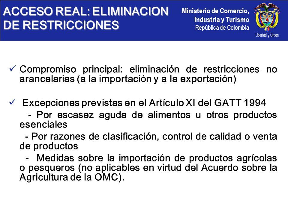 ACCESO REAL: ELIMINACION DE RESTRICCIONES