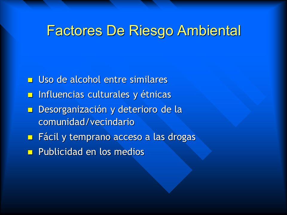 Factores De Riesgo Ambiental