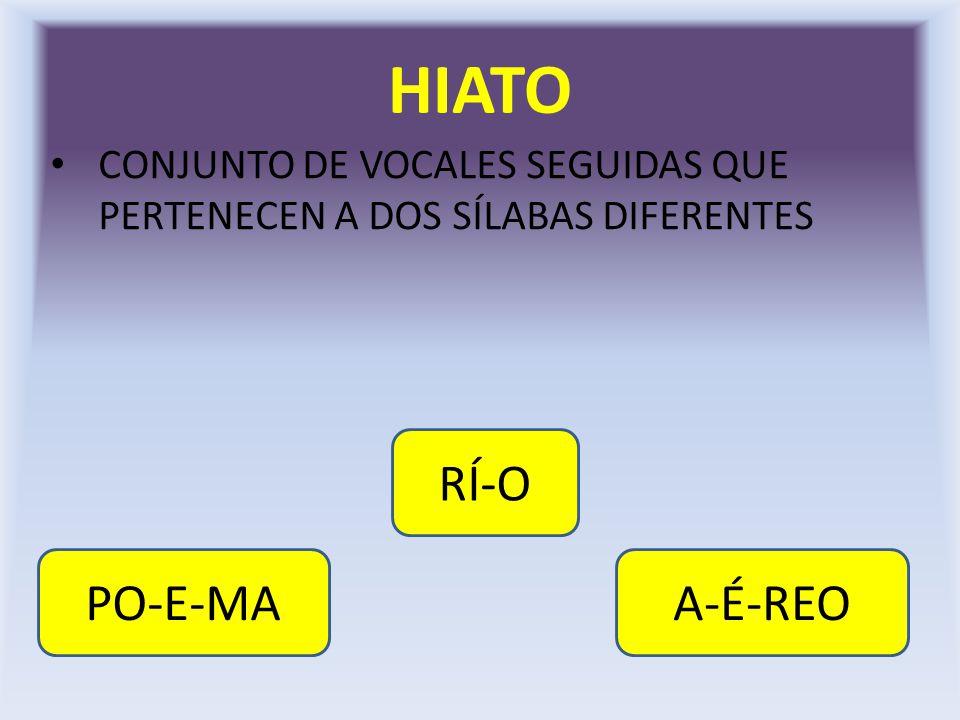 HIATO RÍ-O PO-E-MA A-É-REO