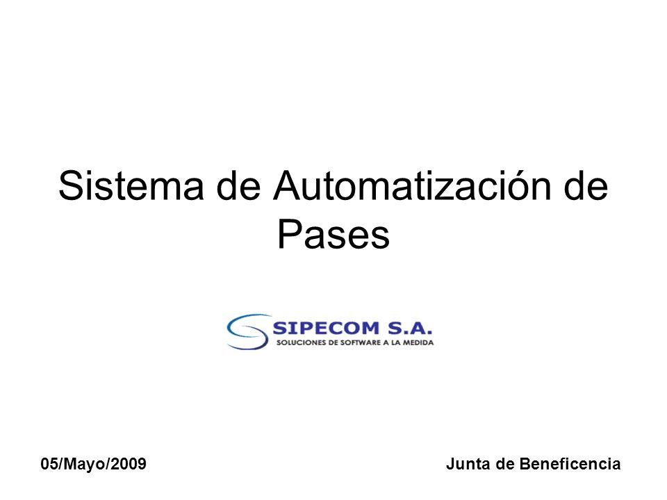Sistema de Automatización de Pases