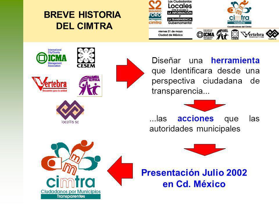 Presentación Julio 2002 en Cd. México