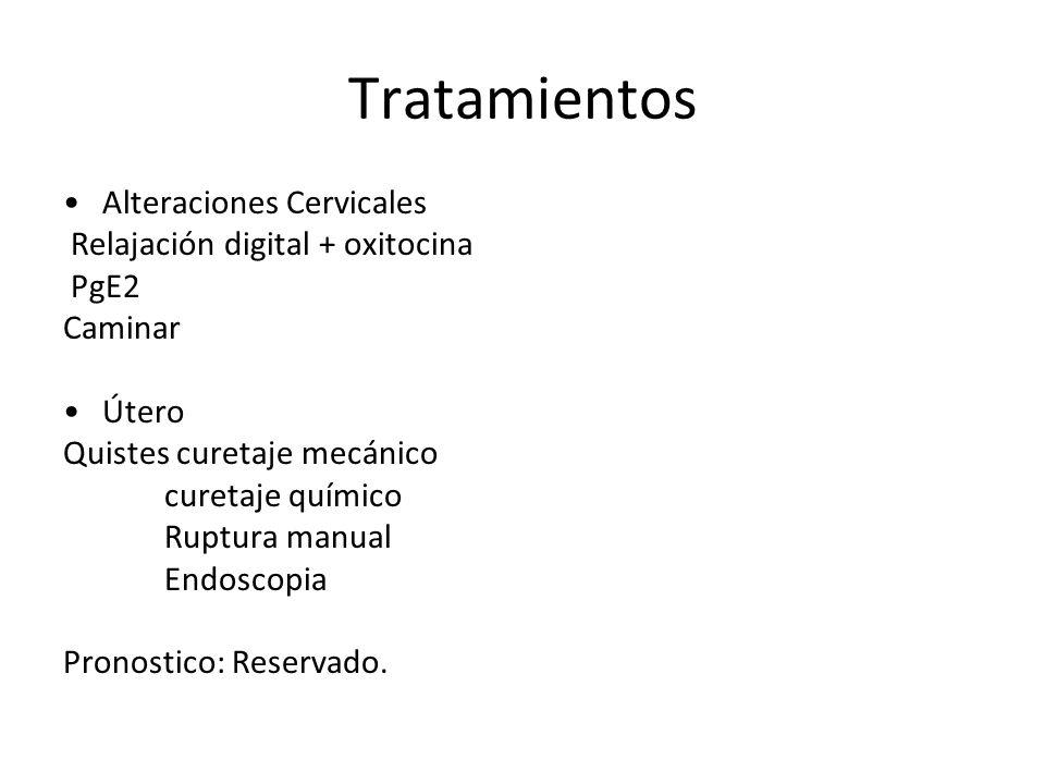 Tratamientos Alteraciones Cervicales Relajación digital + oxitocina