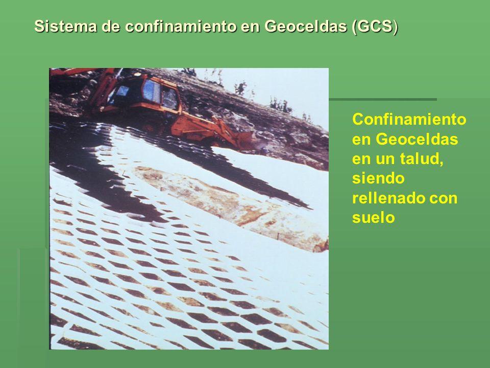 Sistema de confinamiento en Geoceldas (GCS)