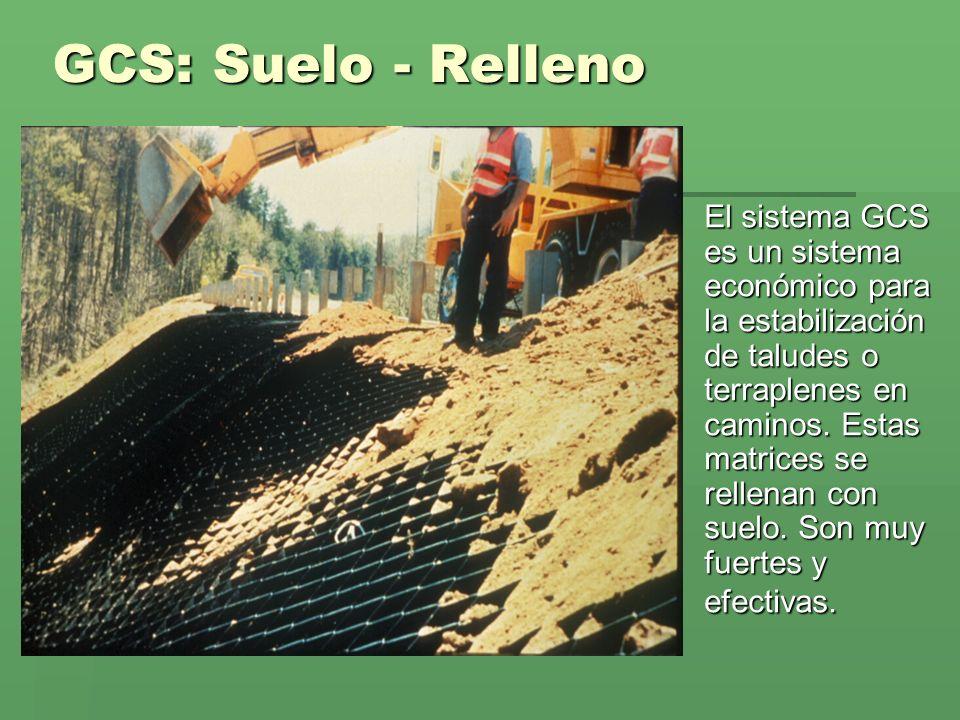 GCS: Suelo - Relleno