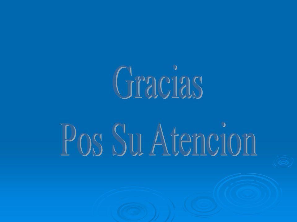 Gracias Pos Su Atencion