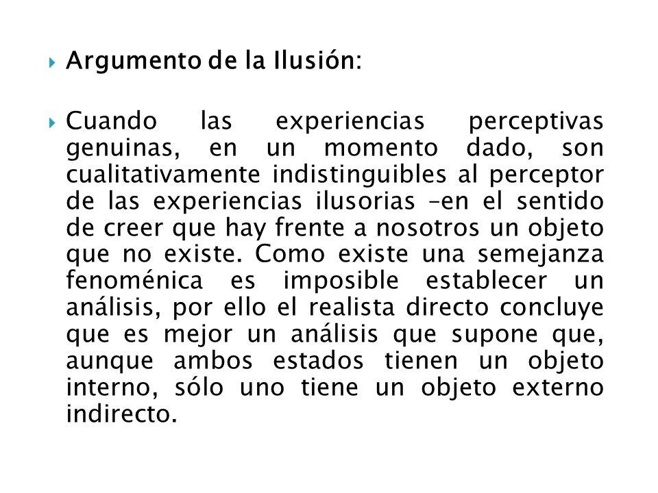 Argumento de la Ilusión: