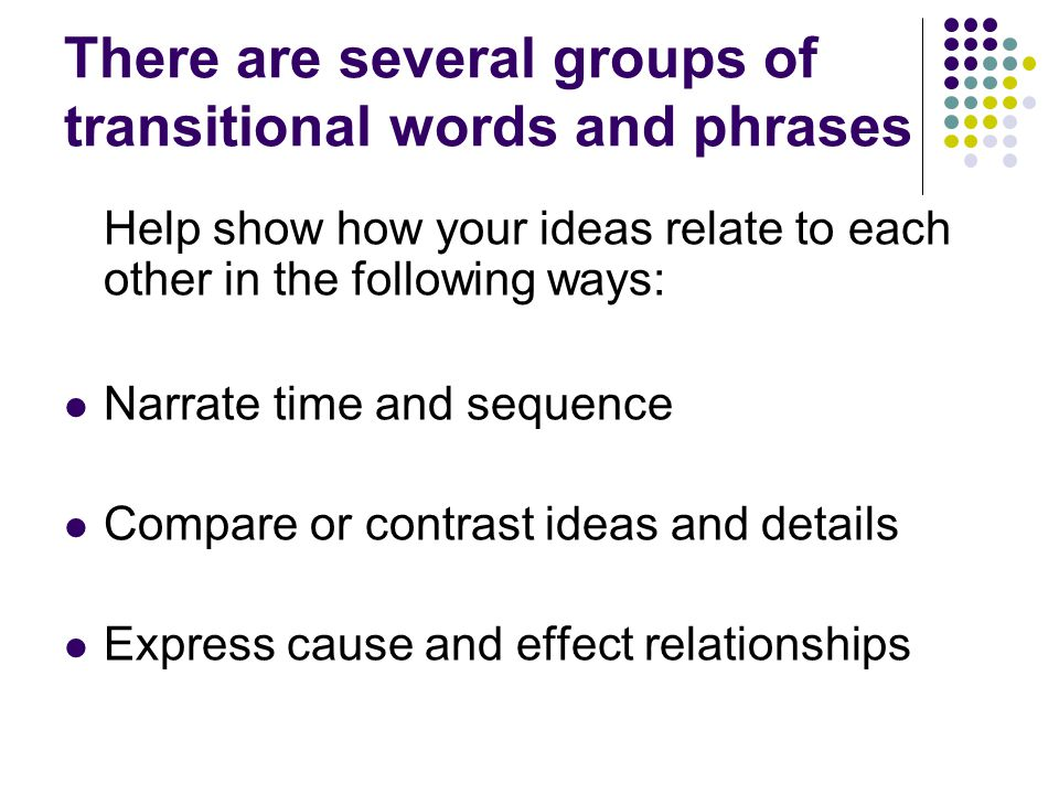 cause and effect relationship examples sentences with helping