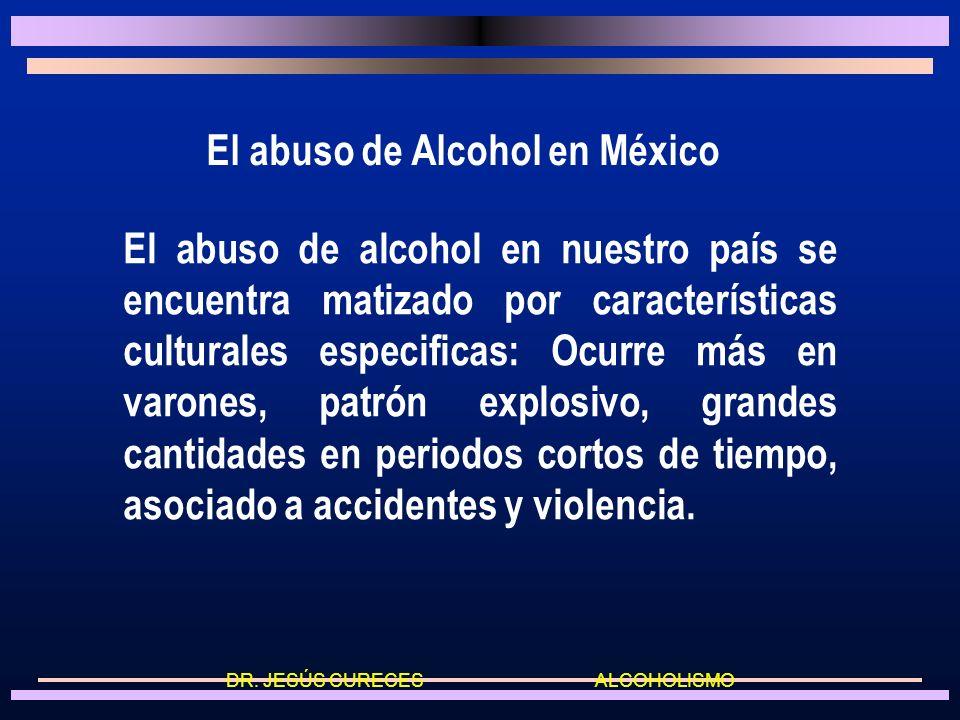 DR. JESÚS CURECES ALCOHOLISMO