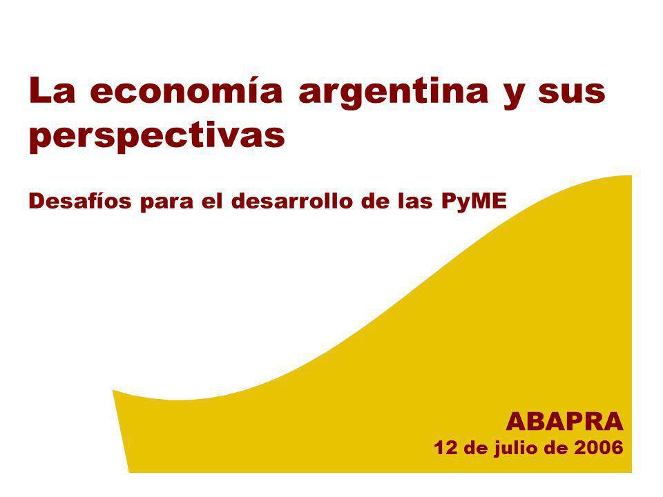 La economía argentina y sus perspectivas