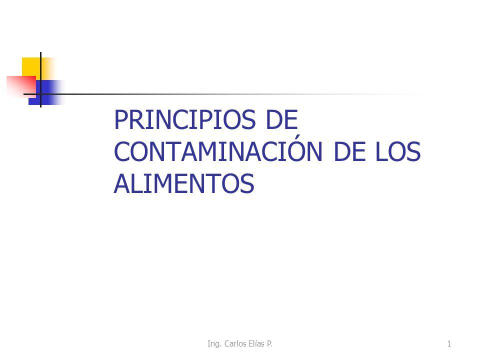 PRINCIPIOS DE CONTAMINACIÓN DE LOS ALIMENTOS