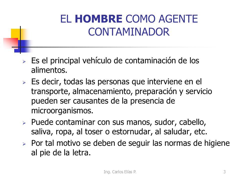 EL HOMBRE COMO AGENTE CONTAMINADOR