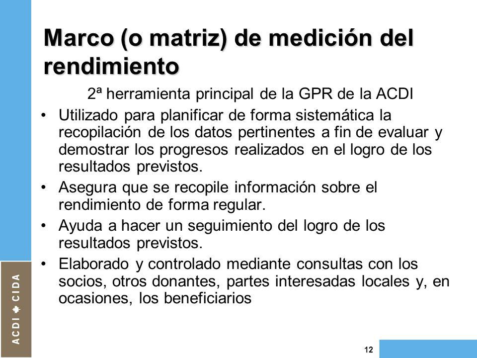 La gestión por resultados en la ACDI - ppt descargar