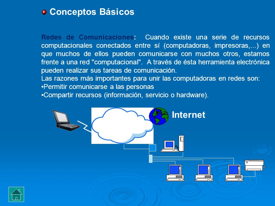 Conceptos Básicos Internet