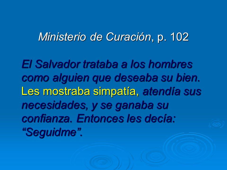 Ministerio de Curación, p. 102