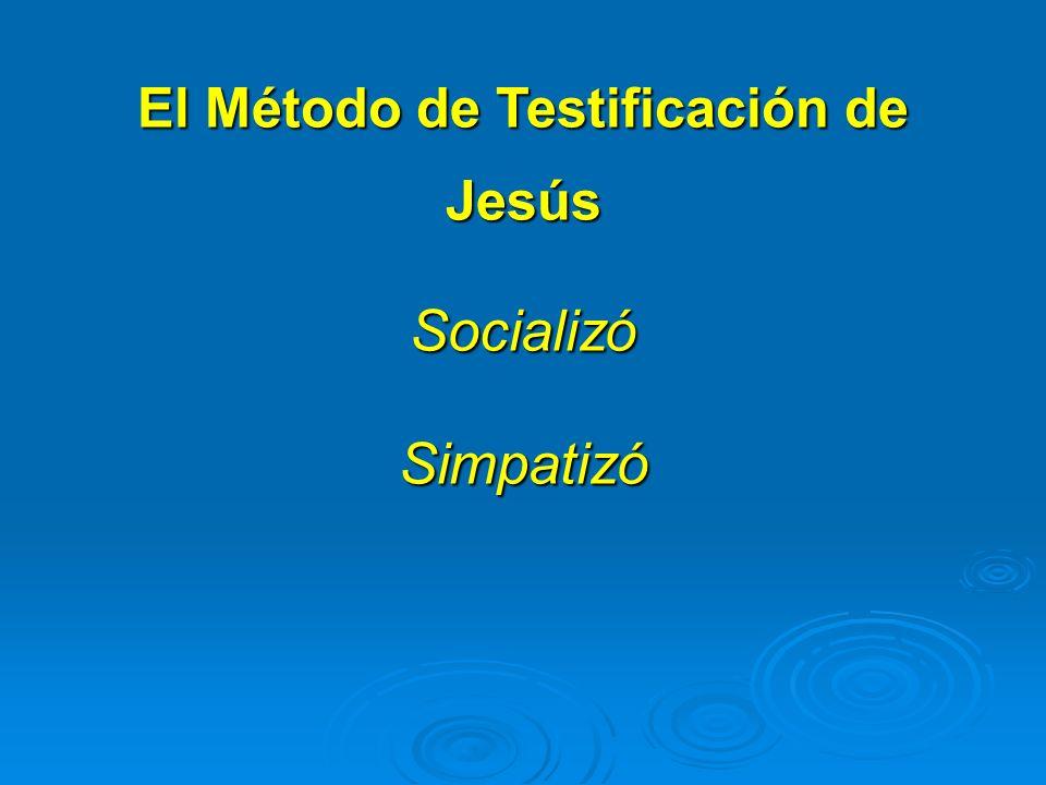 El Método de Testificación de Jesús