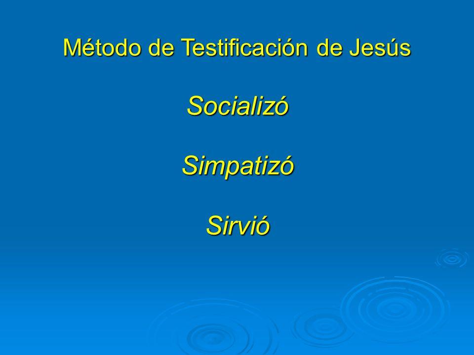 Método de Testificación de Jesús