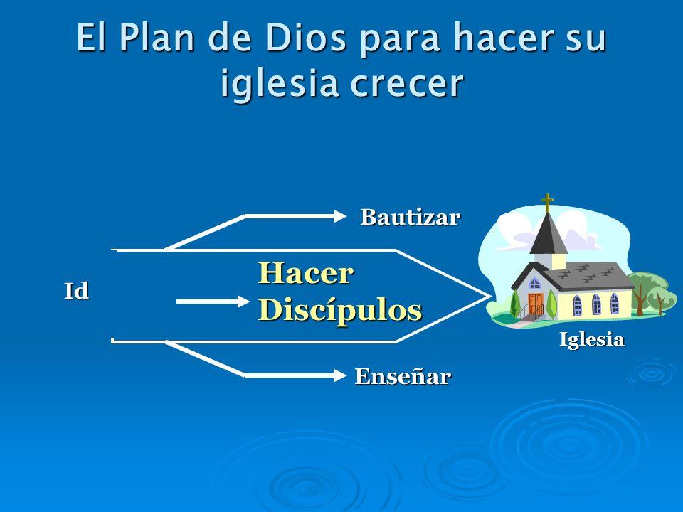 El Plan de Dios para hacer su iglesia crecer