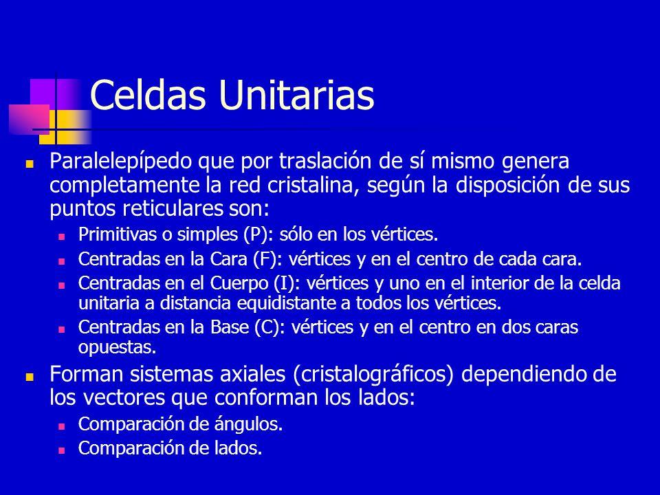 Celdas Unitarias