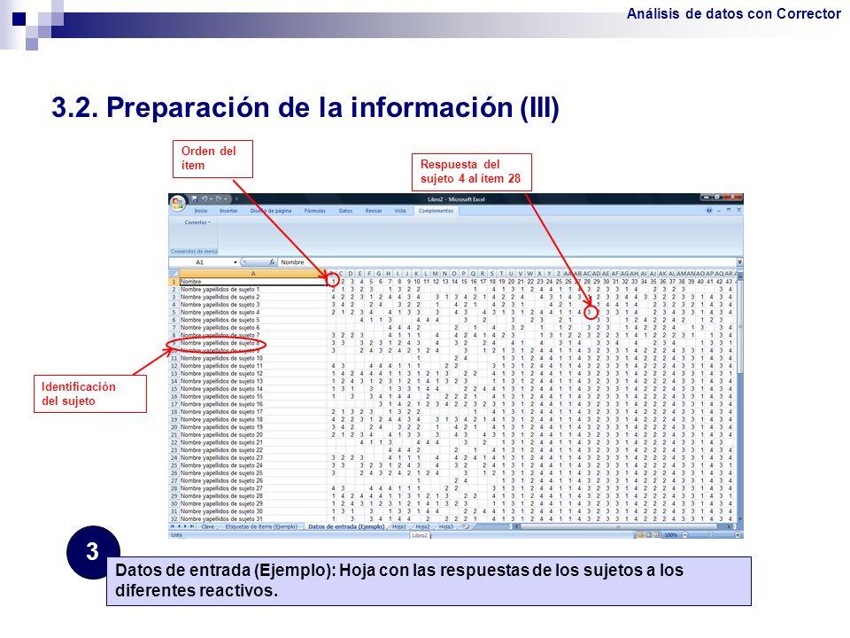 3.2. Preparación de la información (III)