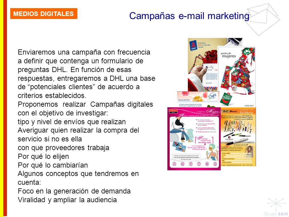 Campañas e-mail marketing
