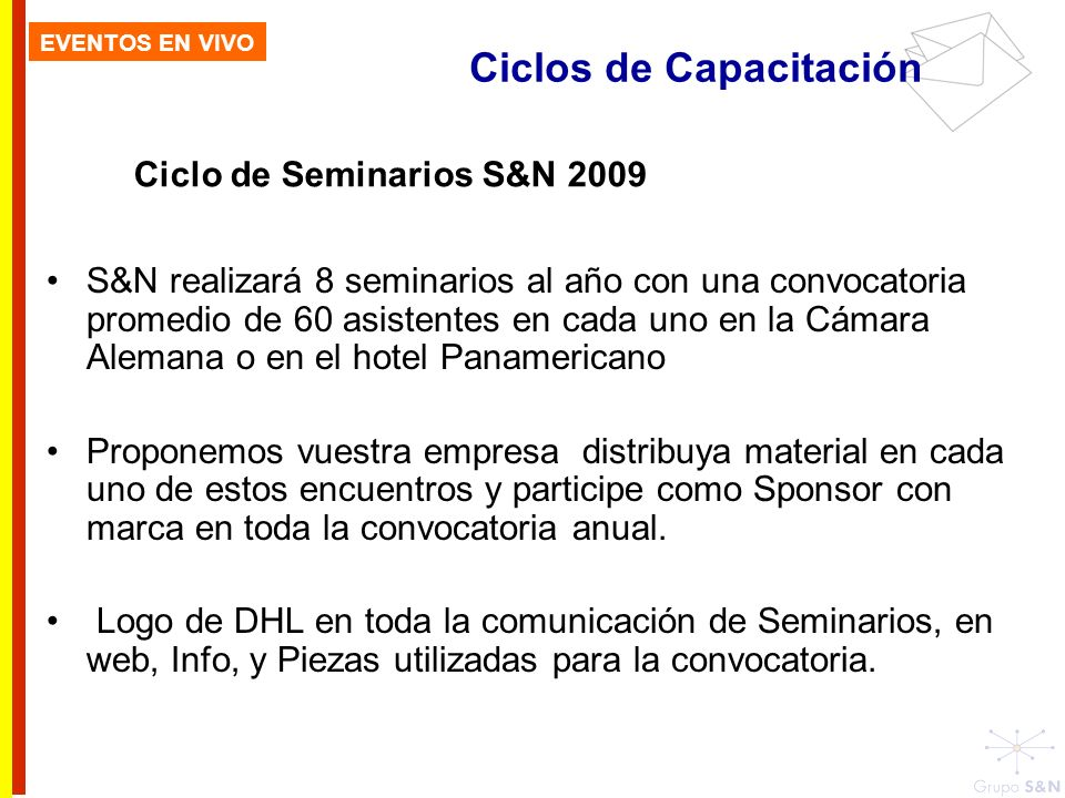 Ciclo de Seminarios S&N 2009