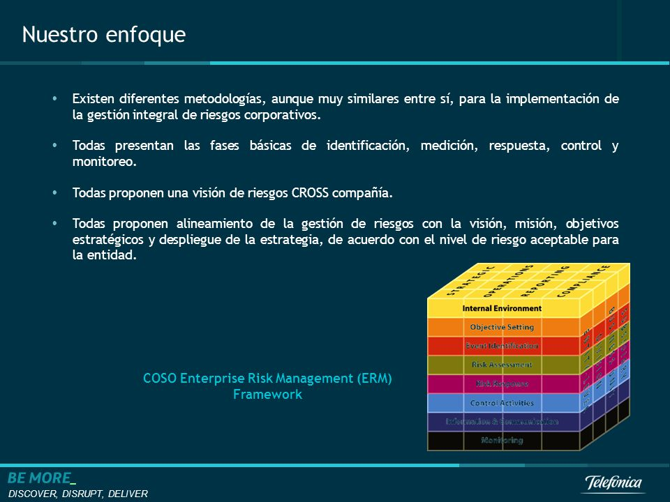 coso enterprise risk management framework pdf