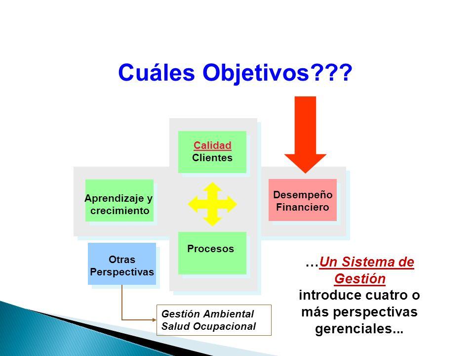 introduce cuatro o más perspectivas gerenciales...