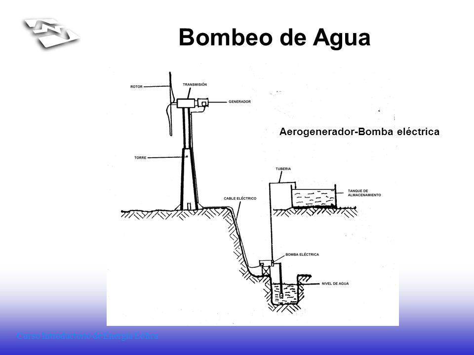Aerogenerador-Bomba eléctrica