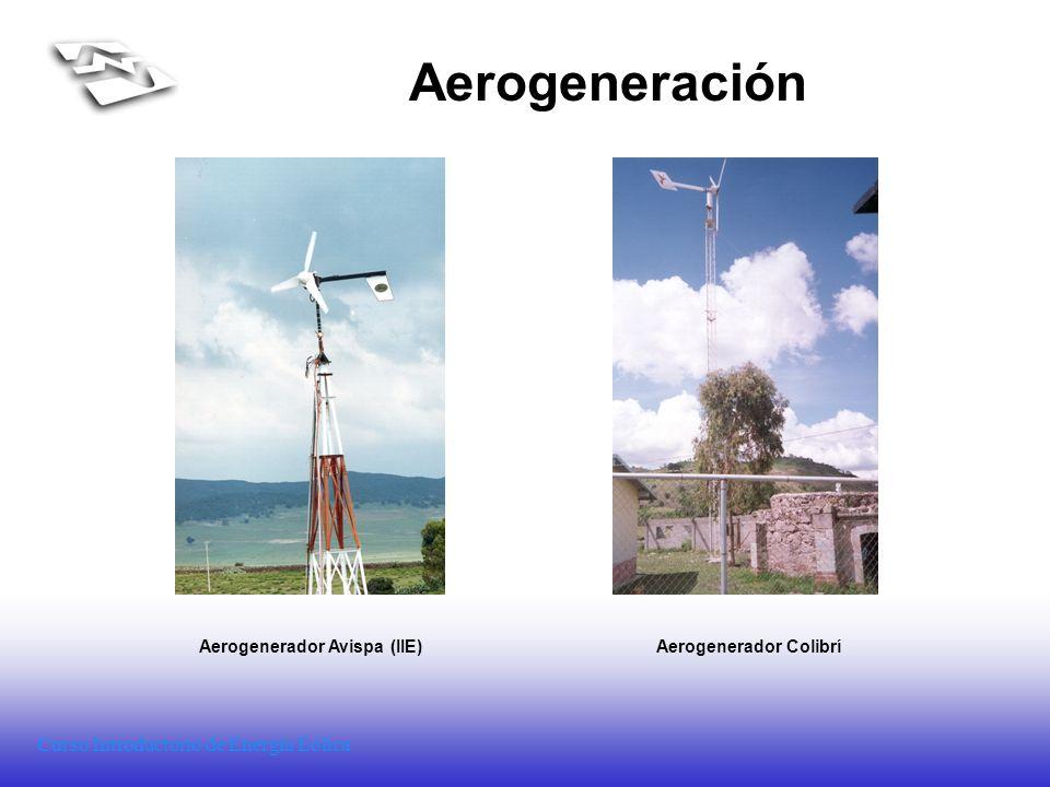 Aerogenerador Avispa (IIE) Aerogenerador Colibrí
