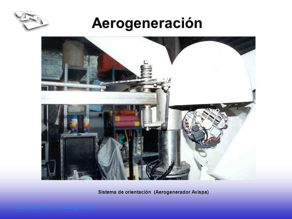 Sistema de orientación (Aerogenerador Avispa)