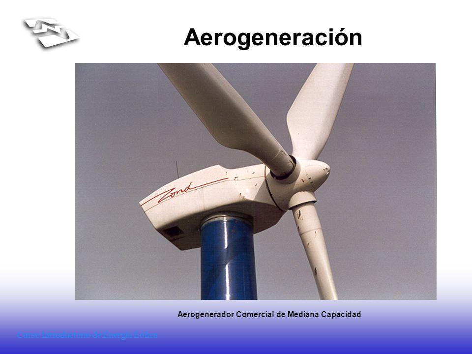 Aerogenerador Comercial de Mediana Capacidad