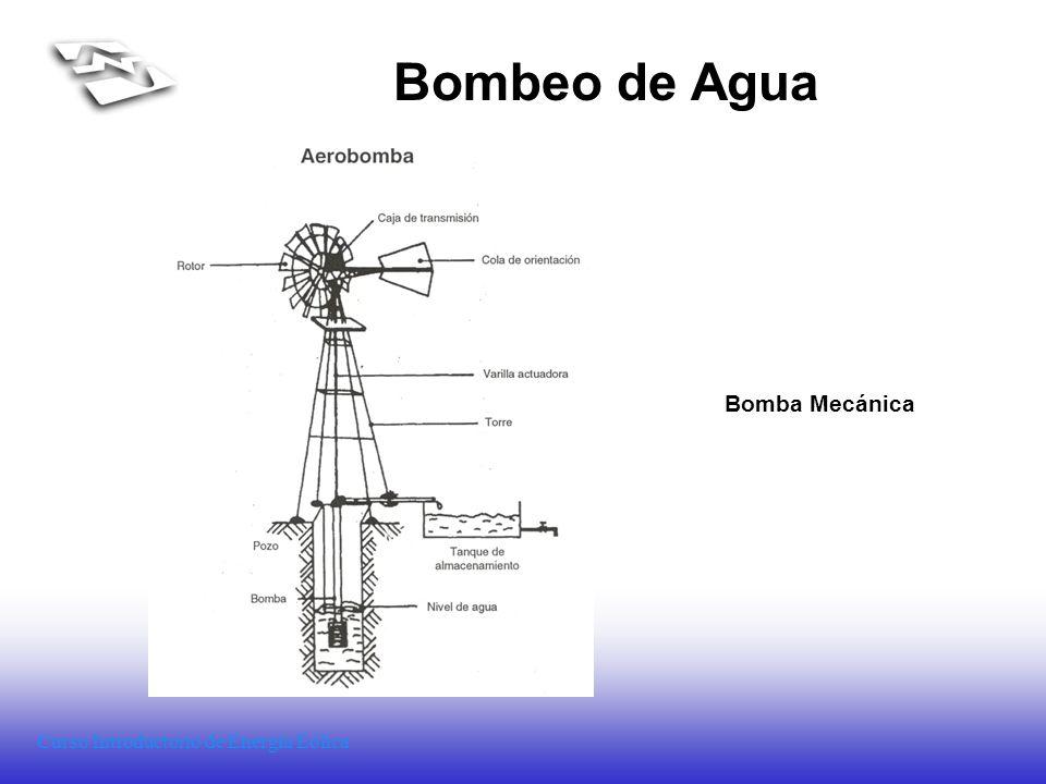 Bombeo de Agua Bomba Mecánica